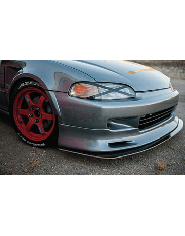 Chargespeed FRP bumperlip front (Civic 92-95 2/3 drs)