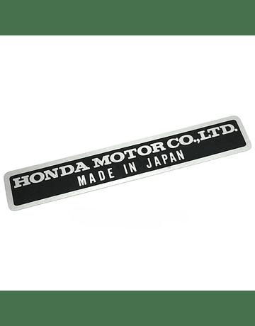 OEM Honda ''Motor Co. LTD'' sticker (universal)