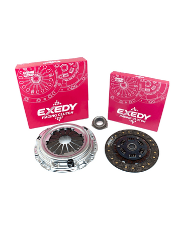 EXEDY RACING SINGLE SERIES STAGE 1 ORGANIC CLUTCH KIT HONDA CIVIC EG EK CR-X INTEGRA DB DC2 B-SERIES B16A2 B16B B18C (HYDRAULIC TYPE)