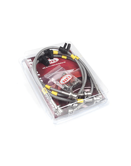 HEL BRAKE LINES HOSES CIVIC VTI 96-00 EK4