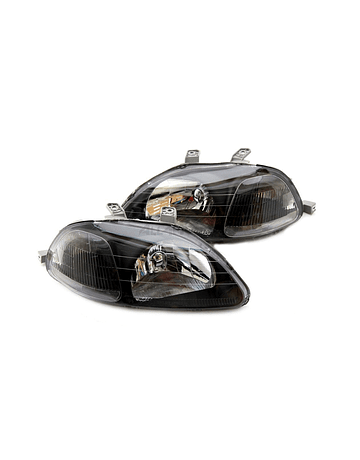 Sonar head lights JDM Black Housing (Civic 96-98 2/3/4 drs)