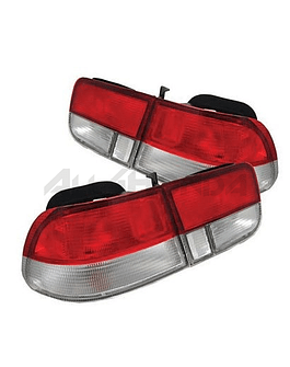 DEPO tail lights Facelift red/white (Civic 96-00 2drs)