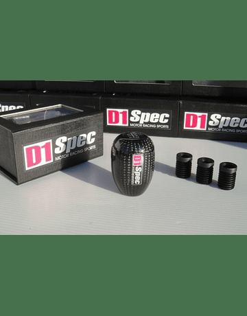 D1 Spec shift knob carbon 5/6 Speed (universal)