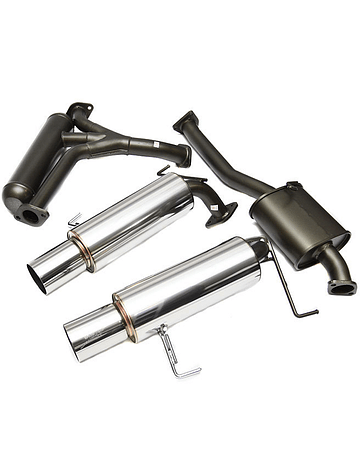 HKS Hi-Power 409 twin exit exhaust system (S2000 99-09)