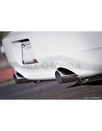 Fujitsubo Legalis R stainless steel exhaust system (S2000 99-09)