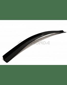 Maxton Design spoiler extension V1 gloss black (Civic 2015+ Type R Turbo FK2)