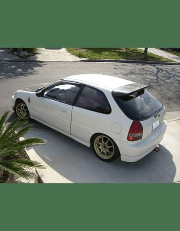 Aerodynamics Carbon Spoiler Spoon style (Civic 96-00 3drs)