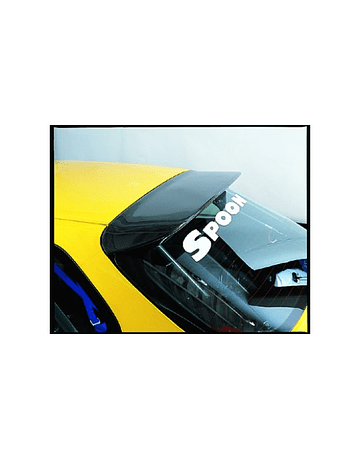 Spoon Sports Carbon Spoiler Duck Bill (Civic 96-00 3drs)