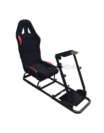 Game simulator set incl. foldable seat (universal)