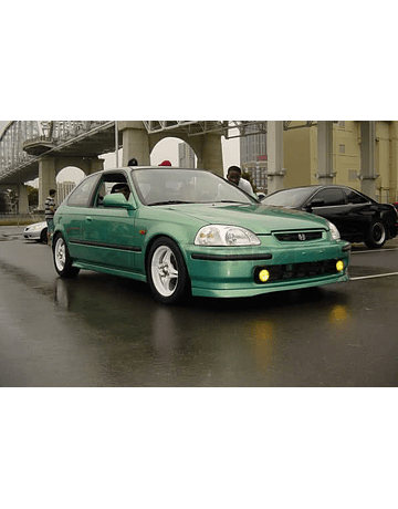 Aerodynamics PU lip SIR style front (Civic 96-98 2/3/4drs)