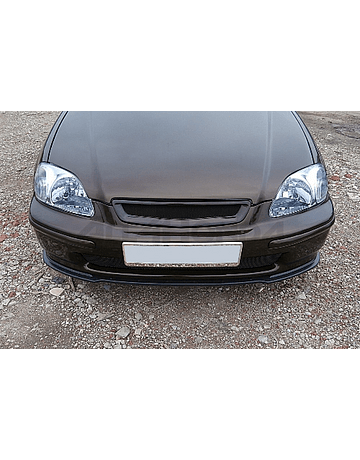 Maxton Design bumperlip/splitter front gloss black (Civic 96-98 2/3/4 drs)