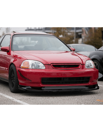 PU Design lip GV Style front (Civic 96-98 2/3/4 drs)