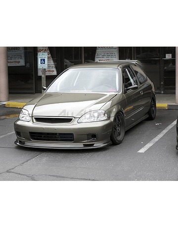 PU Design lip first molding / GV style front (Civic 99-00 2/3/4 drs)
