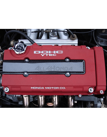 AERODYNAMICS CARBON FIBER VALVE COVER COVER (B-SERIE ENGINES)