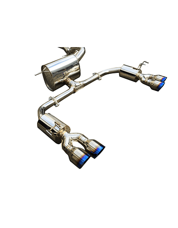 INVIDIA Q300 TI CAT BACK EXHAUST SYSTEM HONDA CIVIC TYPE R FK2 15+ LHD