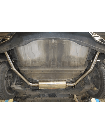 SRS EXHAUST SYSTEM R60 STAINLESS STEEL INCL. TUV (CIVIC 07-12 TYPE R FN2)