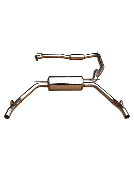 INVIDIA Q300-TI EXHAUST SYSTEM STAINLESS STEEL (CIVIC TYPE R 07-12 3DRS FN2)