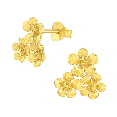 Flores doradas