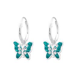 Argollas mariposas calipso