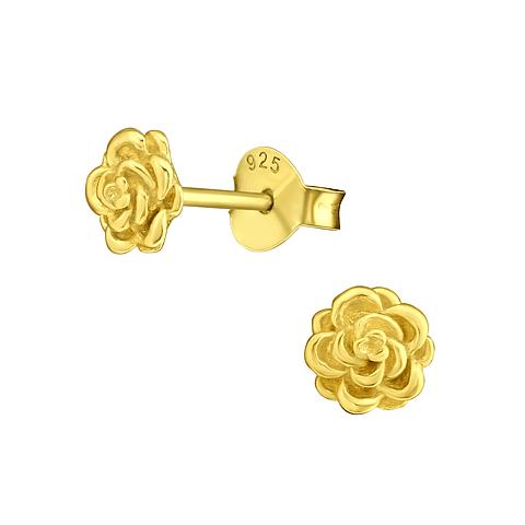Mini rosa dorada