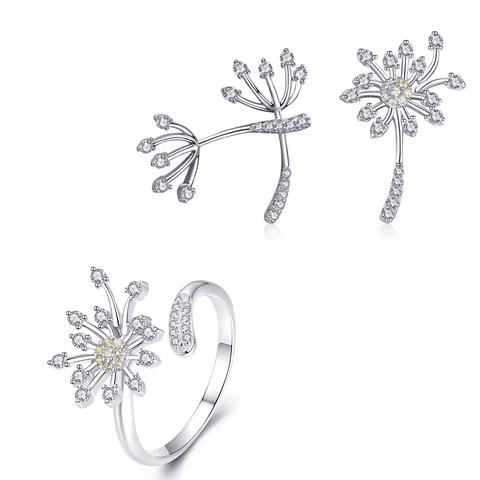 Conjunto Dandelion + anillo