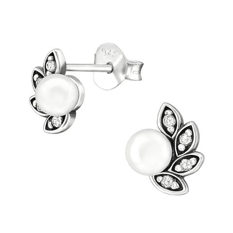 Perlas con pétalos