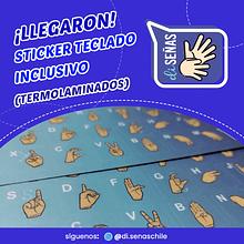 Sticker Diseñas - Color Degrade Azul Turquesa