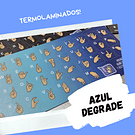 Sticker Diseñas - Color Degrade Azul Turquesa