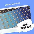 Teclado Diseñas - Color Degrade Azul Turquesa