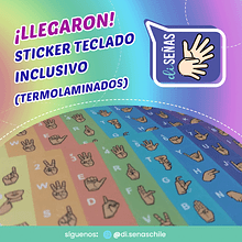 Sticker Diseñas - Color Arcoiris