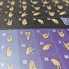 Sticker Diseñas - Color Degrade Celeste a Morado