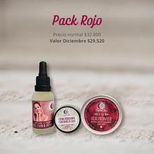 Pack Rojo - Rutina Antiage Hidratante