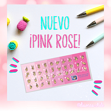 Sticker Diseñas - Color Pink Rose
