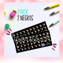 Sticker Diseñas - Pack 2 unidades Color Negro