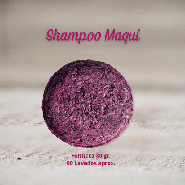 Shampoo Sólido de Maqui