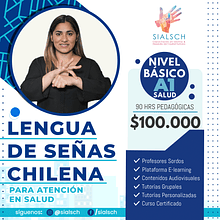 Curso Lengua de Señas para la Atención de Salud
