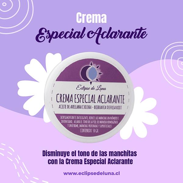 Crema Especial Aclarante