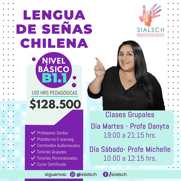 Curso Lengua de Señas online - Nivel Intermedio B1.1