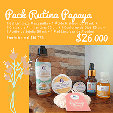 Pack Rutina Papaya