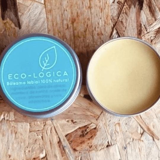 Bálsamo para labios 100% natural