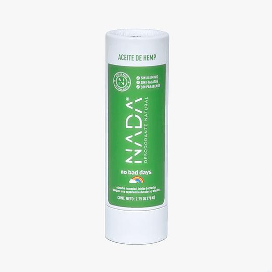 Desodorante NADA naturals  en barra