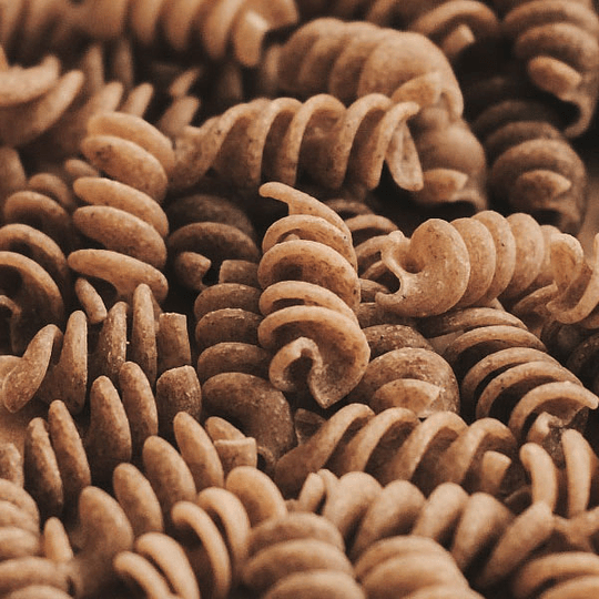 Pasta integral orgánica - Fusilli