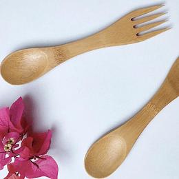 Spork bambú
