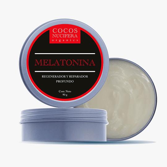 Crema facial de melatonina | 50gr
