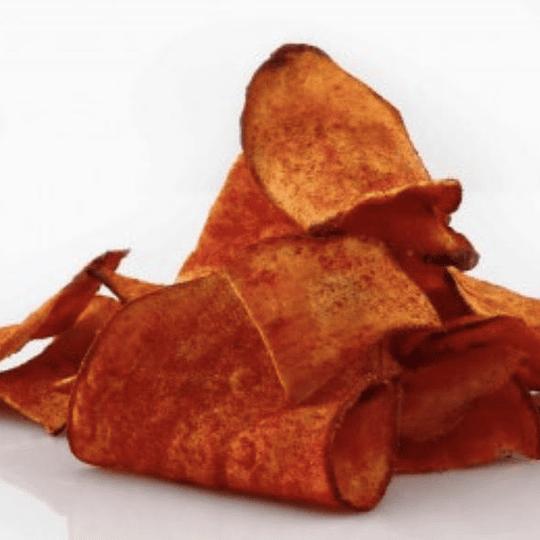 Camote deshidratado con chile