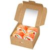 Embalagem Cartolina Kraft C/ janela – Pack 100