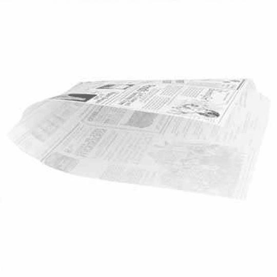Papel Anti-Gordura Times (Burguer) 34g 16x16,5cm -500un
