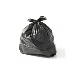 Sacos Lixo Plast 30Lts c / Fecho Preto