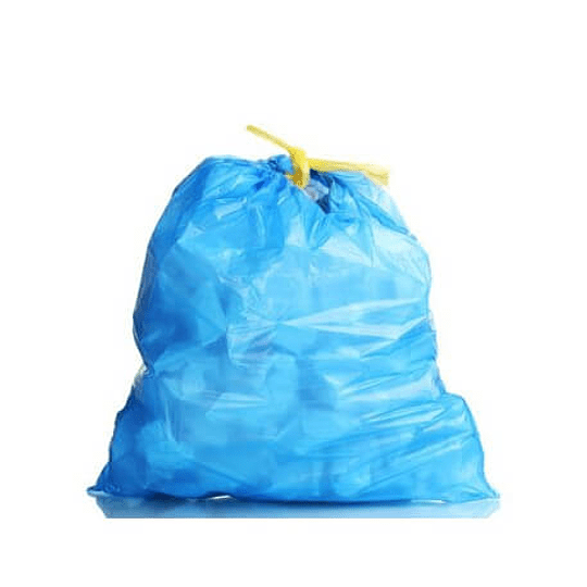 Sacos Lixo Plast 50Lts c/ Fecho 23my (60x80cm) (10un)