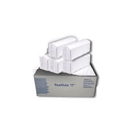 Toalhas Mão Zig Zag (23x21) 20maçosx150un 3000 branco